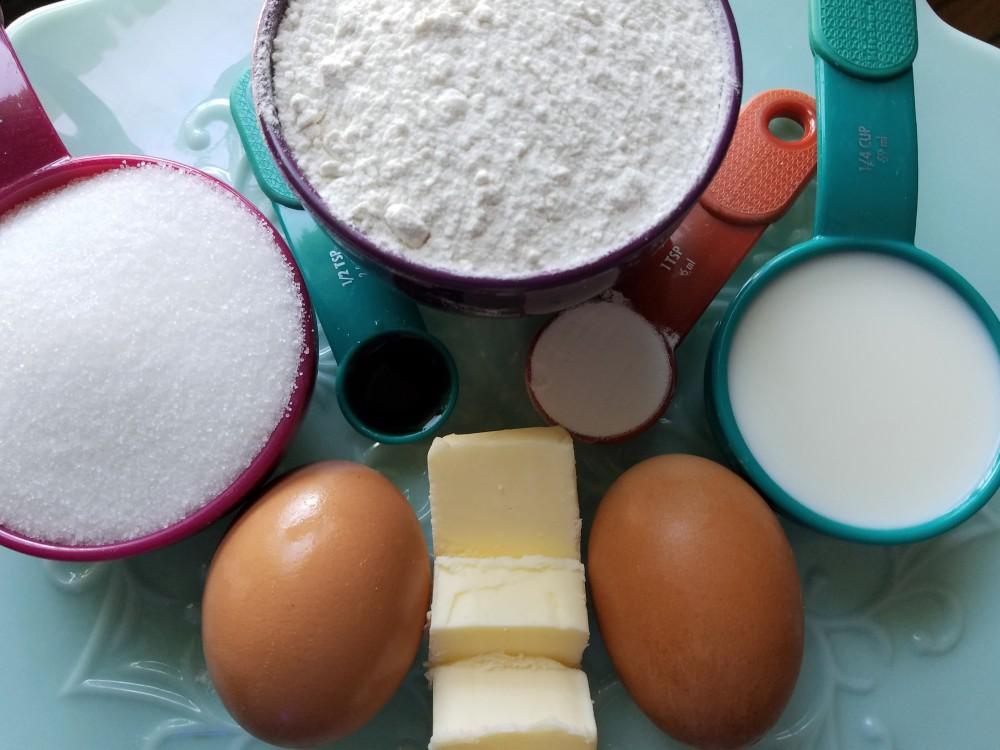 Blog Batter Ingredients
