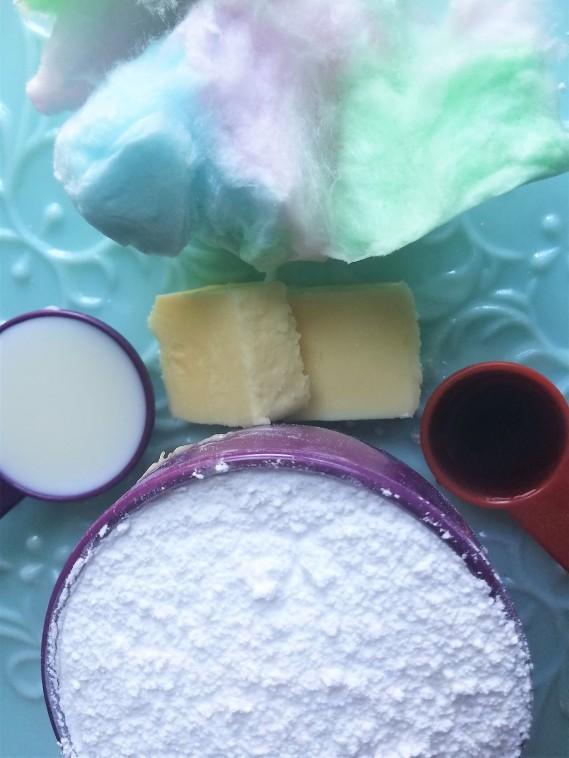Blog Frosting Ingredients